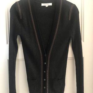 Charcoal grey/black cardigan